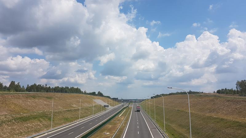 S7 pod Szydlowcem