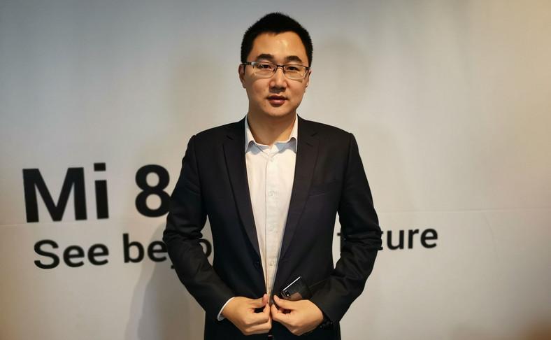 Tony Chen, szef Xiaomi na centralną i wschodnią Europę, Skandynawię i kraje Bałtyckie