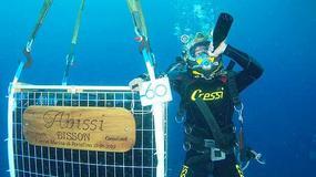 Podwodne piwnice win we Włoszech