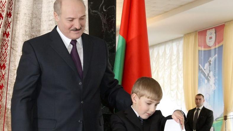 Łukaszenka zaprzysiężony na czwartą kadencję