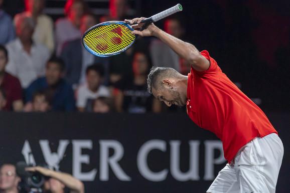 Kirjos je suspendovan na 16 nedelja zbog nepoštovanja pravila ATP