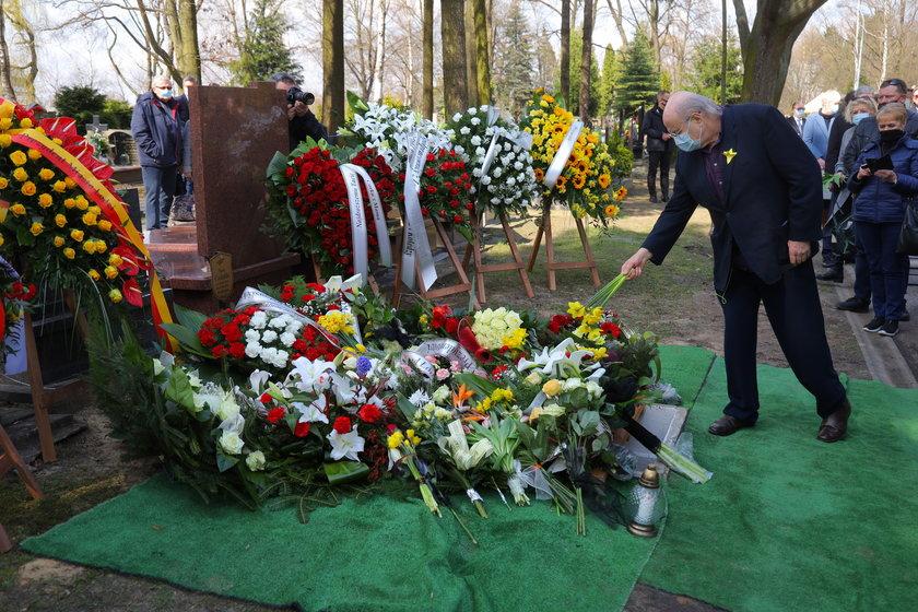 Pogrzeb Marka Czekalskiego, byłego prezydenta Łodzi.