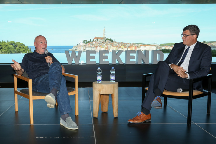 Jean-Claude Biver otvorio Weekend