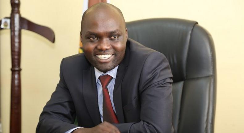 Elgeyo-marakwet Deputy Governor Wesley Kipyegon