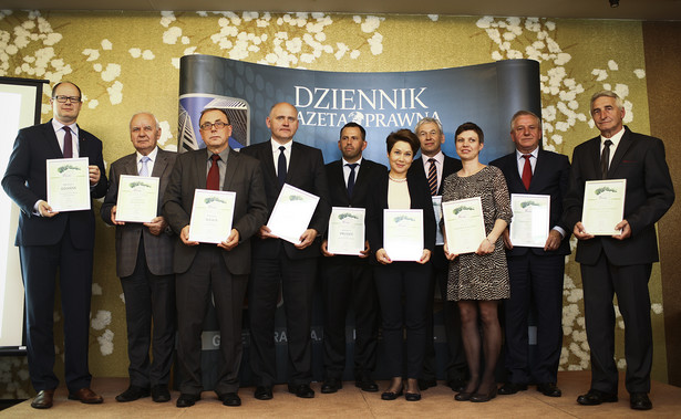 Laureaci drugiej edycji rankingu Perły Samorządu (fot. Wojciech Górski)
