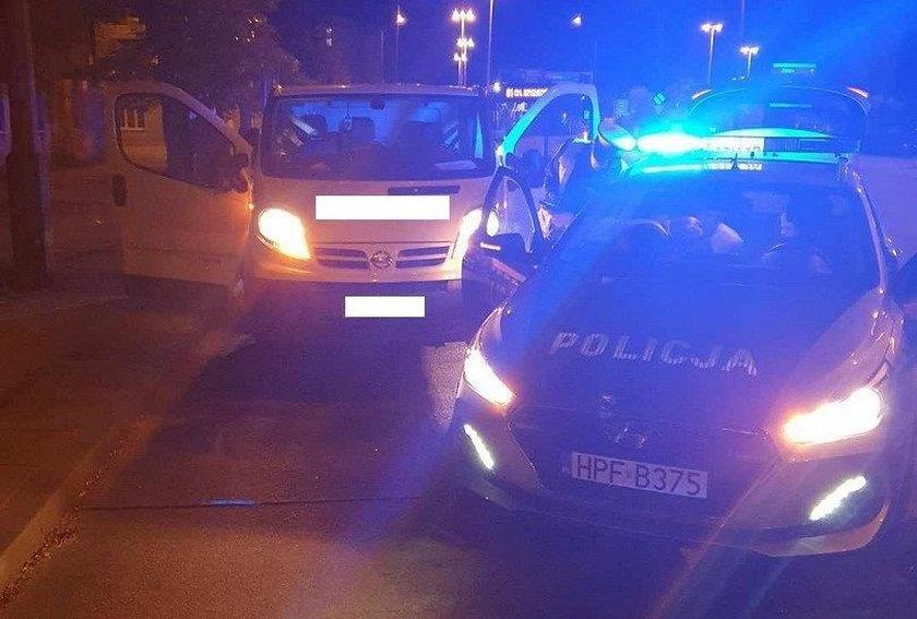 """Kurier grozy szalał w Łodzi. Złapał go policyjny """"Speed"""""""