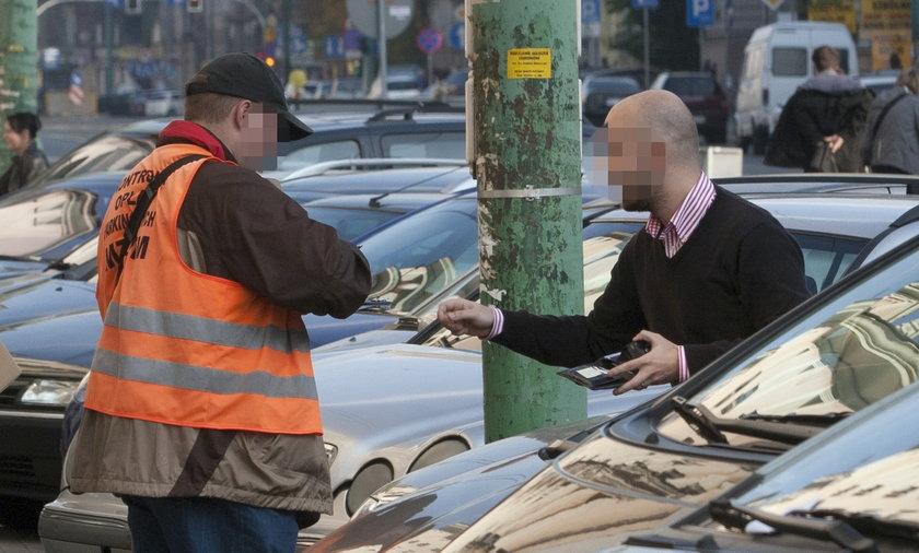 mandat za nieopłacone parkowanie