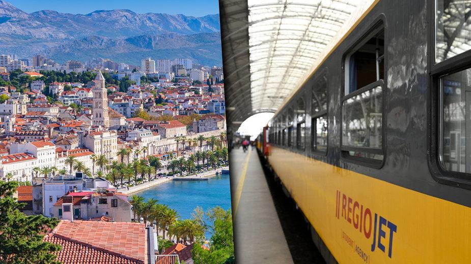 Pociągiem z Polski do Chorwacji? RegioJet chce kursować z Krakowa