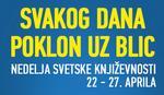 Nedelja svetske književnosti samo u Blicu