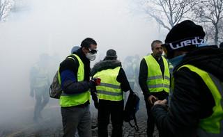 Francuskie media: Mobilizacja 'żółtych kamizelek' coraz słabsza