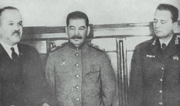 Tito i Staljin u Moskvi