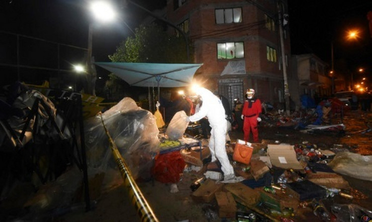Bolivija AP eksplozija