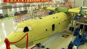Chiny zaprezentowały największy samolot gaśniczy