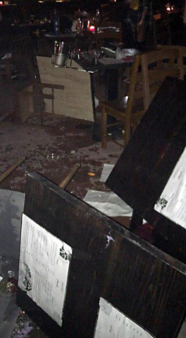"""""""Sve je trajalo dva minuta"""": Lom nakon što su napadači pobegli"""