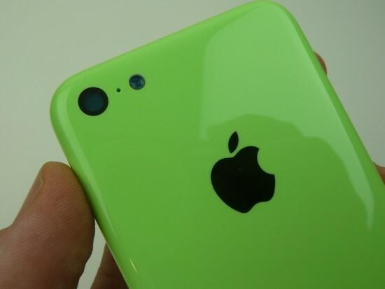 Aparat w iPhonie 5C