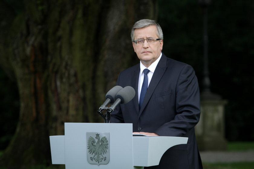 Bronisław Komorowski, prezydent