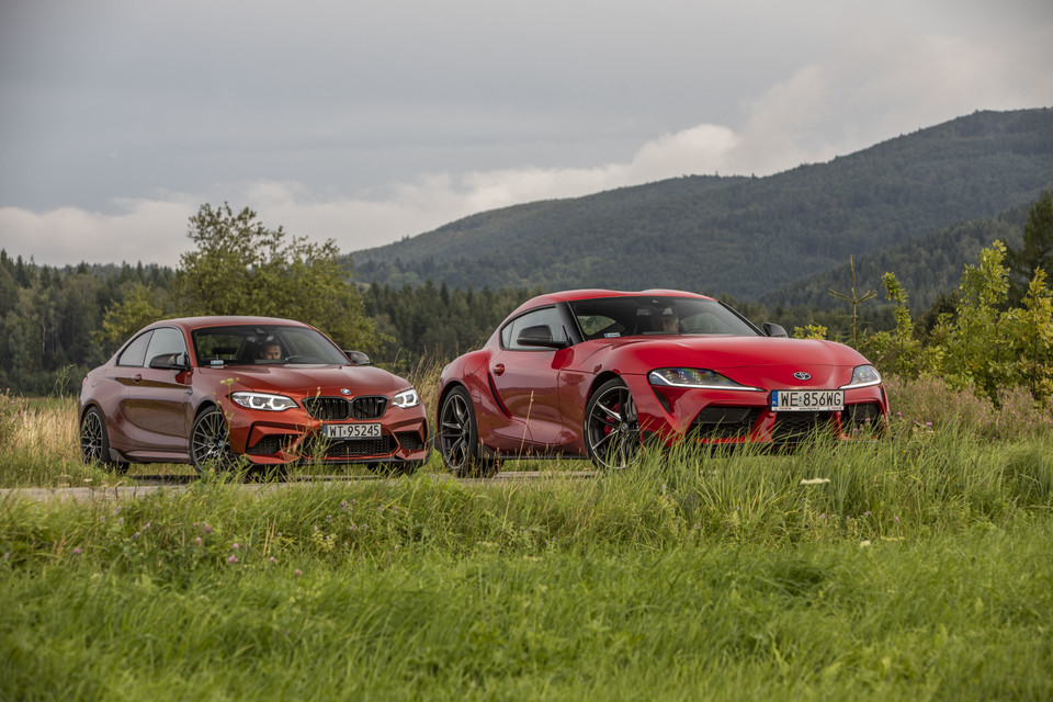 BMW M2 Competition vs Toyota GR Supra