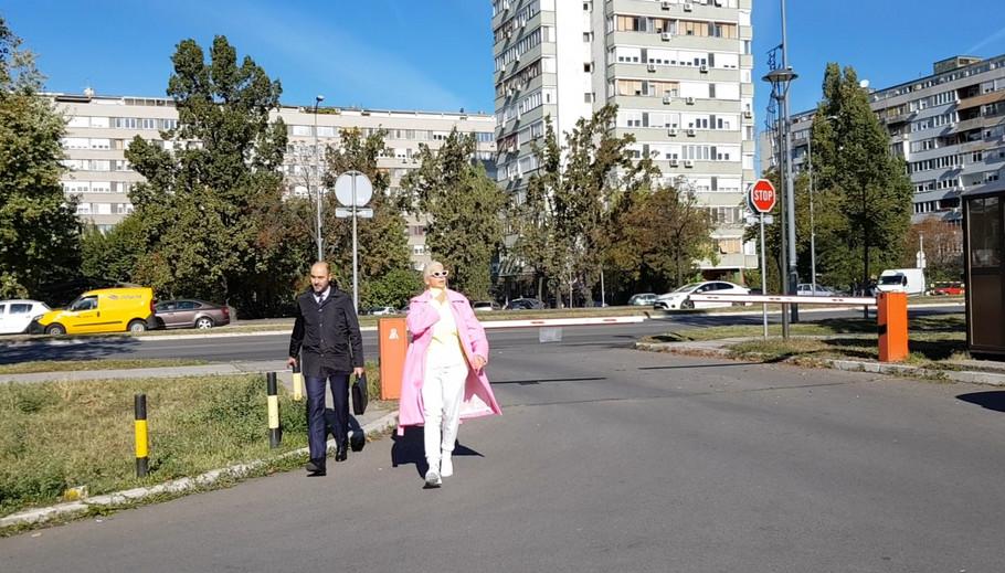 Jelena Karleuša stigla na suđenje sa Cecom