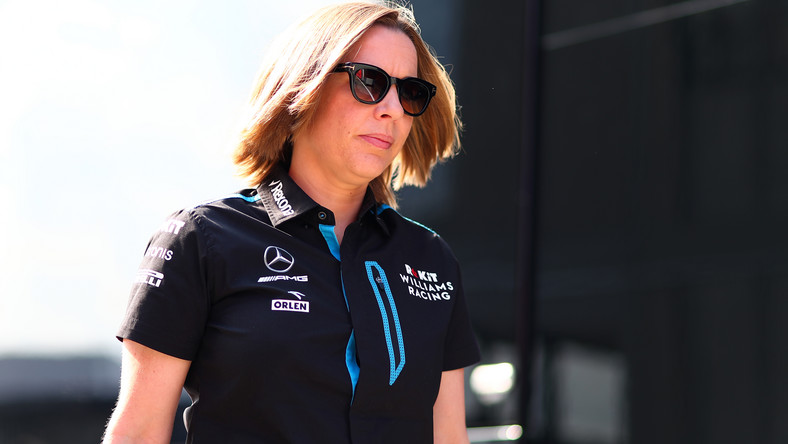 Claire Williams wytyka seksizm | F1