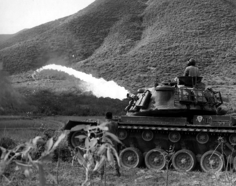 M67 Flame Thrower Tank