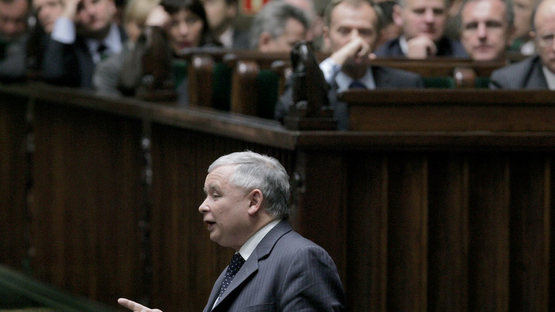 Kaczyński: To triumf orwellowskiego świata III RP