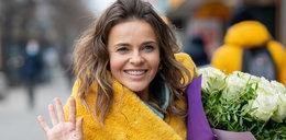 Edyta Herbuś dostała bukiet kwiatów z okazji 40. urodzin. Zdobyła się na wzruszający gest