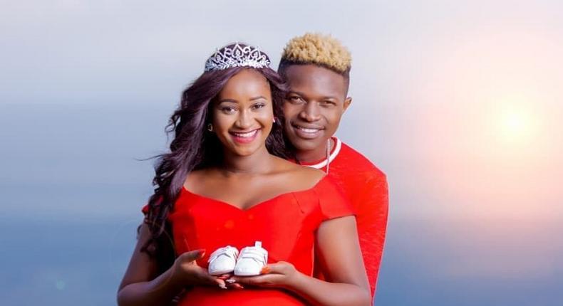 Mr seeds and his wife Nimo Gachuiri