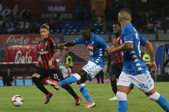 Napolitanci na meču sa Milanom