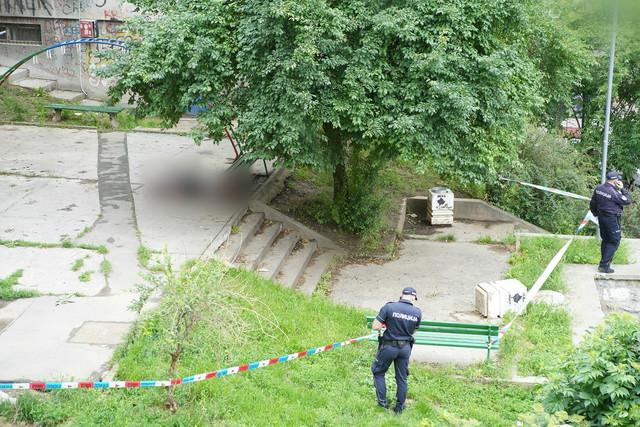 Krvavo telo muškarca pronađeno u parku na Vračaru