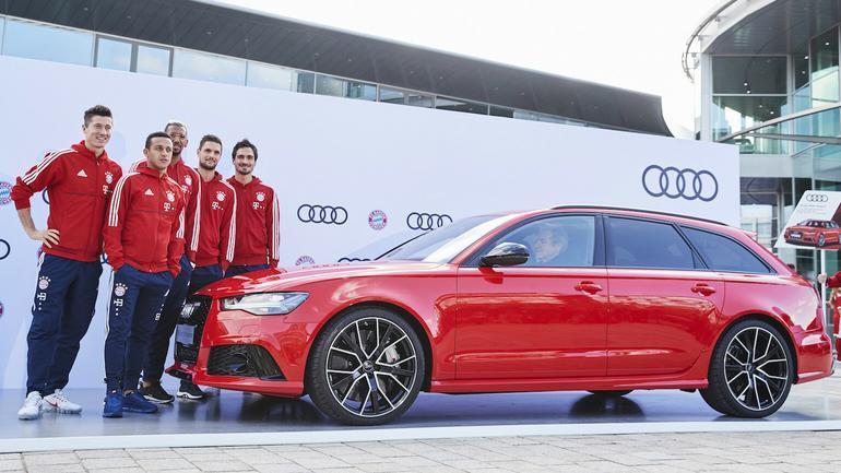 Nowe modele Audi dla Bayernu Monachium