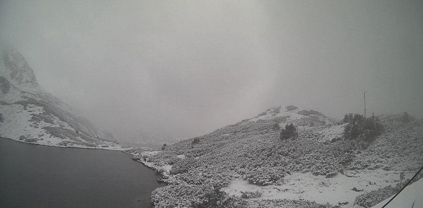 Czy to koniec lata? Zima zagościła w Tatrach NAGRANIE