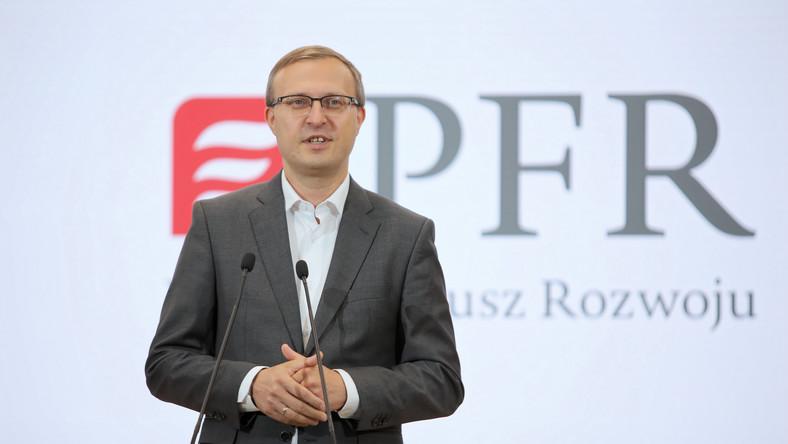 Prezes zarządu Polskiego Funduszu Rozwoju S.A. Paweł Borys