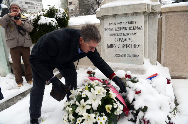 Janko Vukotić unuk čuvenog serdara položio je vence na grob