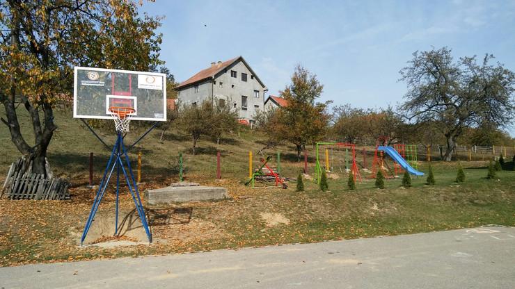 Novo igralište za školu u selu Šljivova