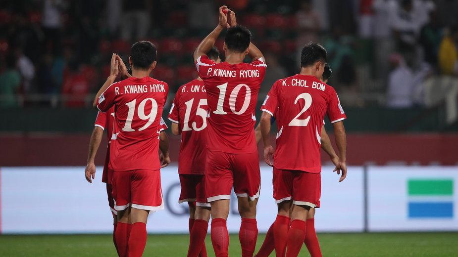 Piłkarze Korei Północnej