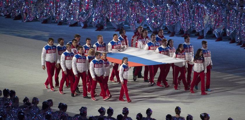 Afera dopingowa w Rosji. Zamiast hymnu... pieśń ludowa