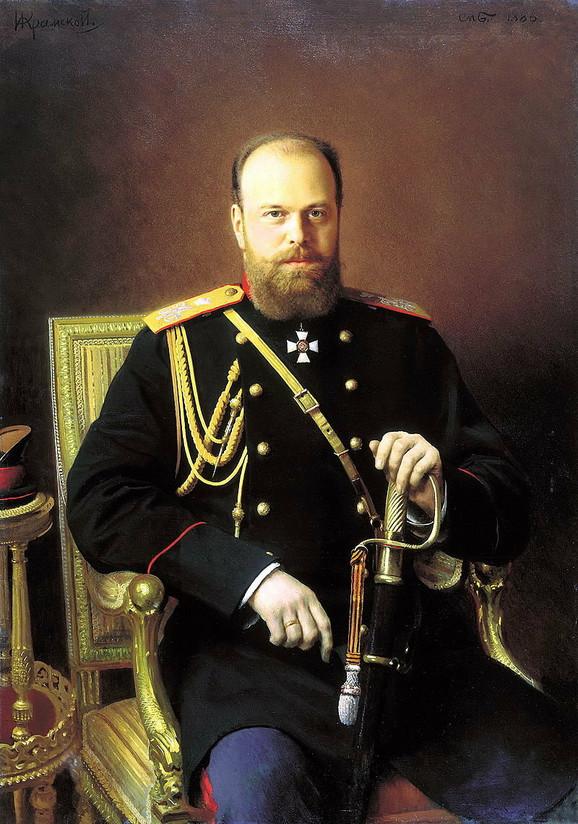 Ruski car Aleksandar III