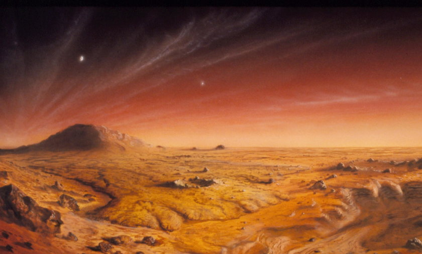 Do roku 2024 ma odbyćsię wyprawa na Marsa