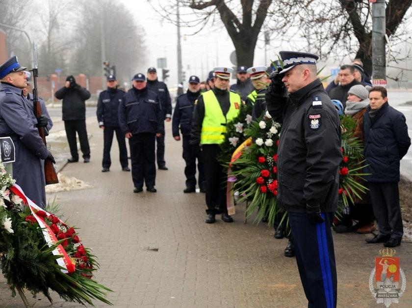 Piąta rocznica śmierci policjanta Andrzeja Srtuja