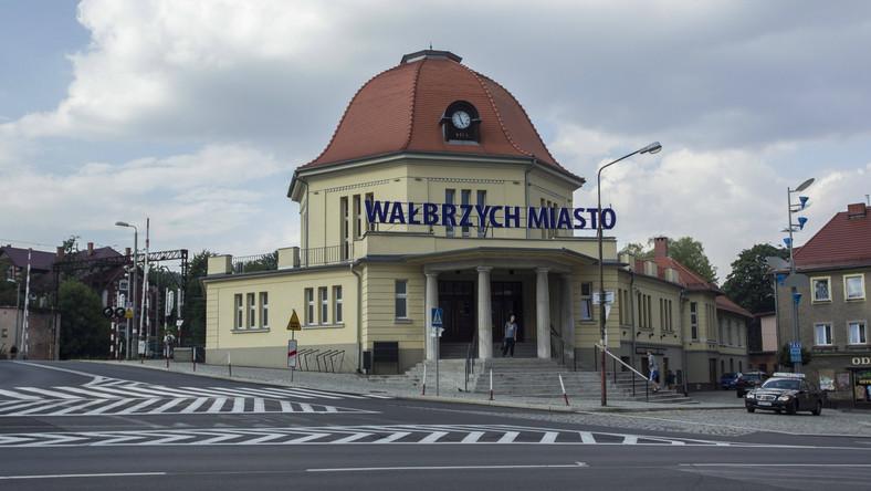 Dworzec kolejowy w Wałbrzychu