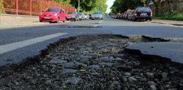 Nie naprawili ulicy po zalaniu