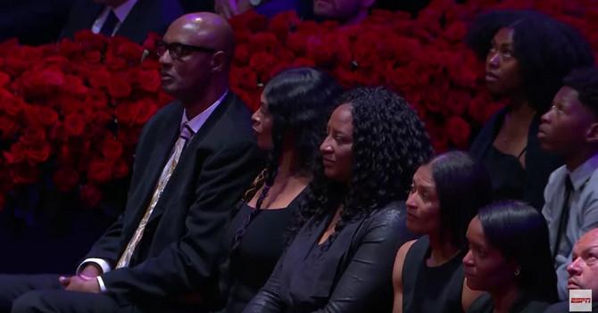 Roditelji Kobija Brajanta na komemoraciji