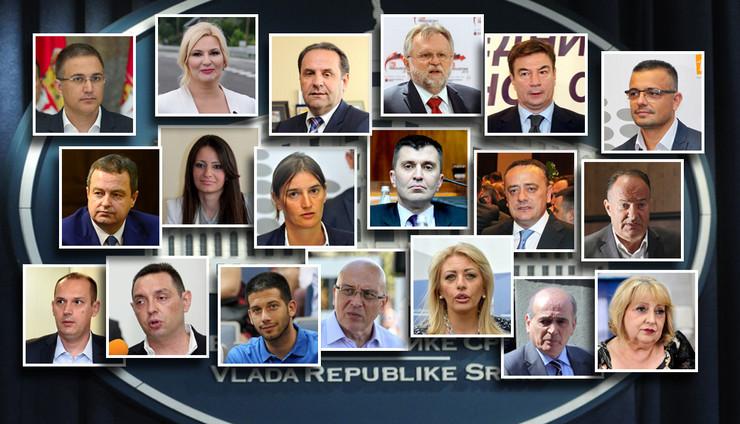vlada srbije ministri kolaz pokrivalica