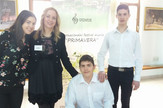 Jasna Djurovic sa ucenicima foto FB JU Muzicka skola Vlado Milosevic Banja Luka