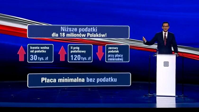 Rząd Zjednoczonej Prawicy zapowiedział w ramach tzw. Polskiego Ładu obniżkę podatku dla mniej zarabiających i podwyżkę dla lepiej zarabiających.