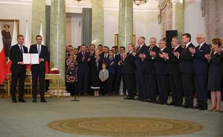 Prezydent powołał rząd. Mateusz Morawiecki ministrem sportu