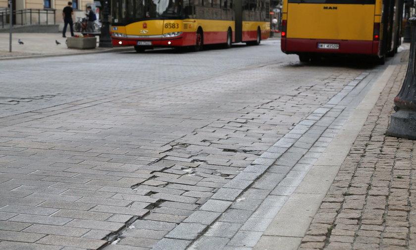 Krakowskie Przedmieście znowu do remontu
