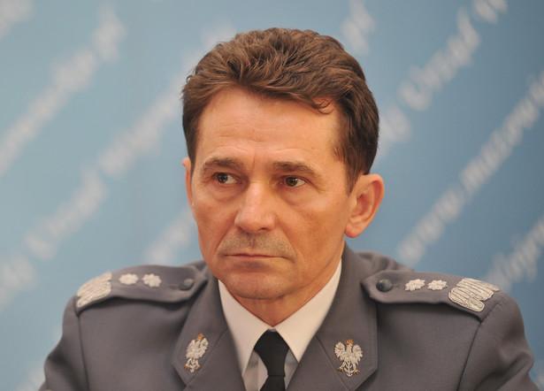 Były komendant główny policji Andrzeju Matejuk.