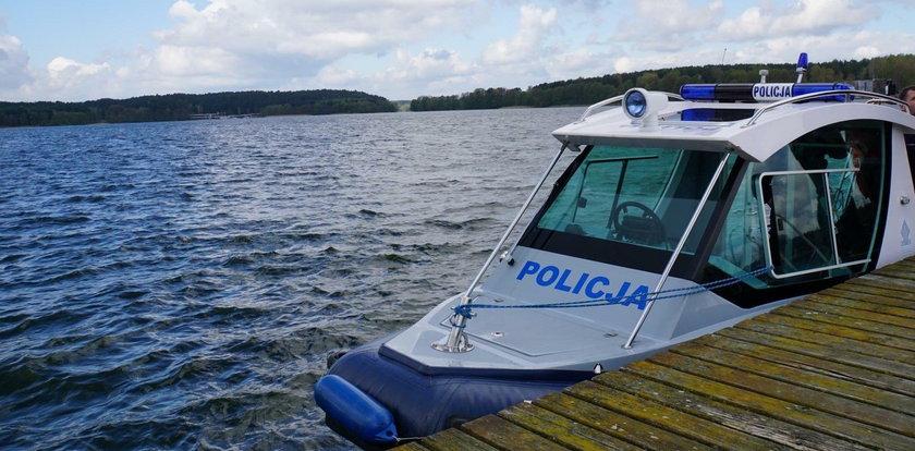 Tragedia nad jeziorem Marwicko. Mężczyzna zginął na oczach rodziny