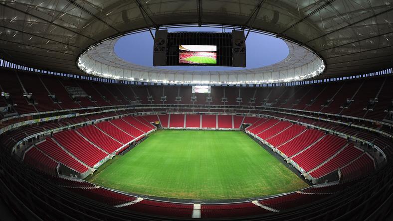 Stadion w Brasilii
